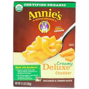 Аннис Хоумгроун, Creamy Deluxe Cheddar, Macaroni & Cheese Sauce, 9.5 oz (269 g) отзывы покупателей