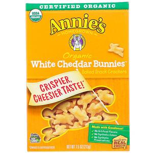 Аннис Хоумгроун, Organic White Cheddar Bunnies, Baked Snack Crackers, 7.5 oz (213 g) отзывы