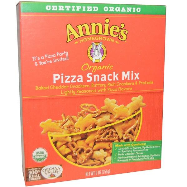 Annie's Homegrown, Органическая смесь для приготовления пиццы, 9 унций (255 г) (Discontinued Item)
