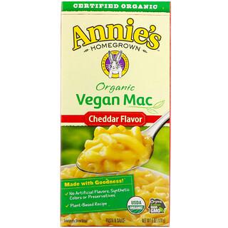 Annie's Homegrown, ماك نباتي عضوي، بنكهة الشيدر، 6 أوقية (170 جم)