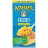 Annie's Homegrown, Gluten Free, Rice Pasta & Cheddar, 6 oz (170 g)