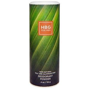 Ханиби Гардэнс, HBG for Men, Deodorant Powder, Bay Rum, 4 oz (114 g) отзывы