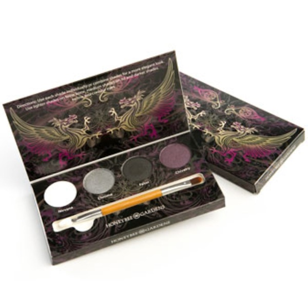 Honeybee Gardens, Eye Shadow Palette, Rock the Smokey Eye, 4 Shadows, 0.045 oz (1.3 g) Each (Discontinued Item)