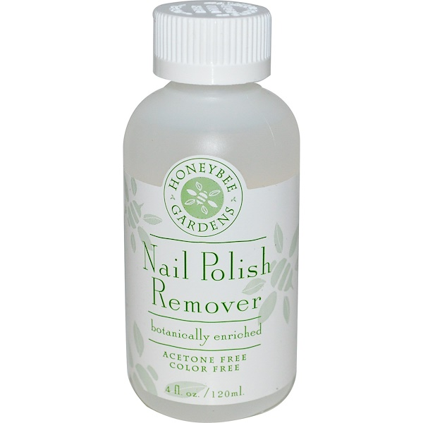 Honeybee Gardens, Nail Polish Remover, 4 fl oz (120 ml) (Discontinued Item)