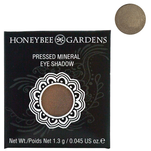 Honeybee Gardens, Pressed Mineral Eye Shadow, Tippy Taupe, 0.045 oz (1.3 g) (Discontinued Item)