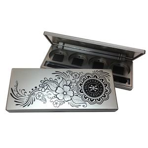 Ханиби Гардэнс, Compact for Pressed Eye Shadow, 1 Compact Case отзывы