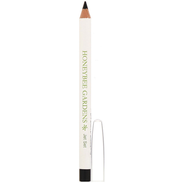 Honeybee Gardens, Eye Liner, Jet Set, 0.04 oz (1 g) (Discontinued Item)