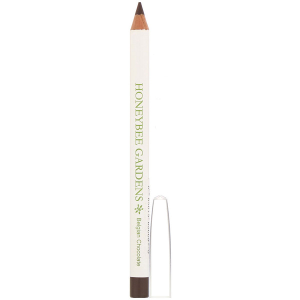 Honeybee Gardens, Eye Liner, Belgian Chocolate, 0.04 oz (1 g) (Discontinued Item)