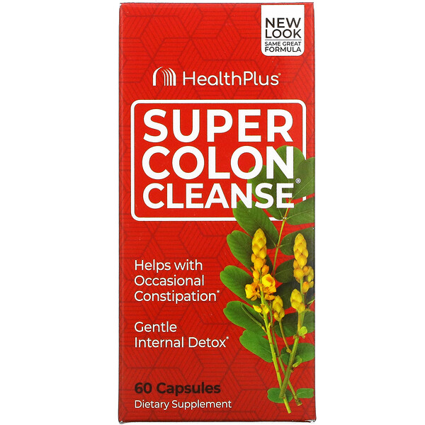 Super Colon Cleanse, 60 Capsules