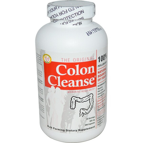 The Original Colon Cleanse, One, 625 mg, 200 Capsules