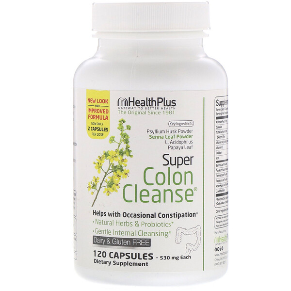 Super Colon Cleanse, 530 mg, 120 Capsules