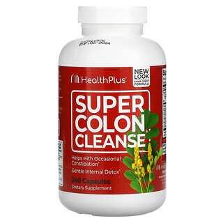 Health Plus, Super Colon Cleanse, 240 Capsules