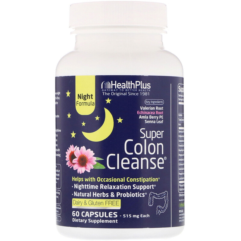Super Colon Cleanse, Night, 515 mg, 60 Capsules