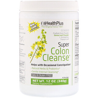 Health Plus, Super Colon Cleanse, 12 oz (340 g)