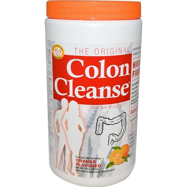 Health Plus, The Original Colon Cleanse, Orange Flavored, 12 oz (340 g) (Discontinued Item)