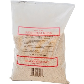 Health Plus, 100% Pure Psyllium Husk, 1.5 lbs (680 g)