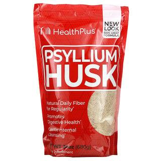 Health Plus, Psyllium Husk, 24 oz (680 g)