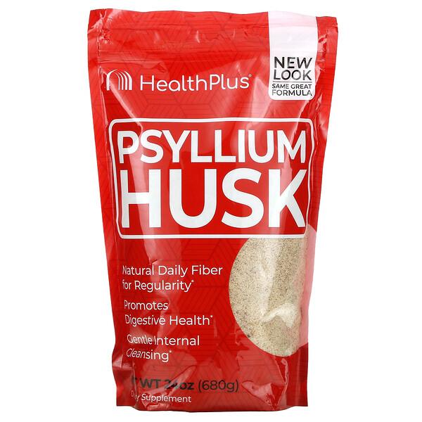 Psyllium Husk, 24 oz (680 g)