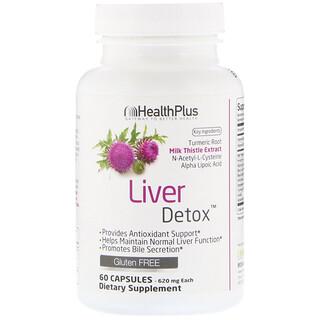 Health Plus, Liver Detox, 60 Capsules