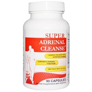 Health Plus, Super Adrenal Cleanse, Step 5, 90 Capsules