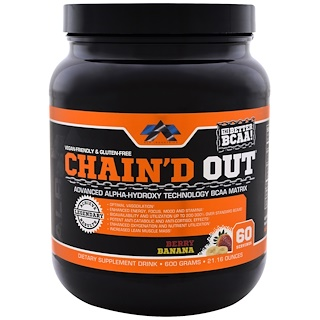 ALR Industries, Chain'd Out BCAA Matrix, موز وتوت, 21.16 أونصة (600 غ)