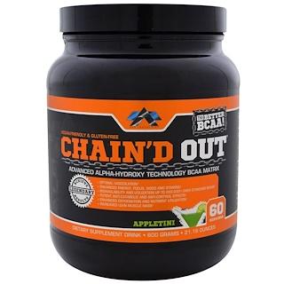 ALR Industries, Chain'D Out Матрица аминокислот с разветвленной цепью, Яблочный мартини, 21.16 унций (600 г)