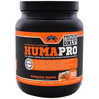 ALR Industries, HumaPro Powder, мандариновый оранж, 23.52 ун (667 g)