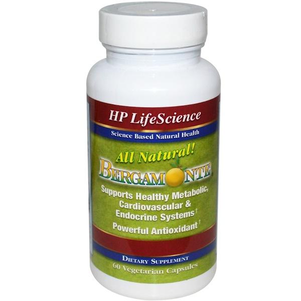 HP Life Science, Bergamonte, 60 Veggie Caps (Discontinued Item)