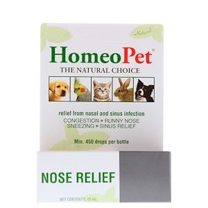 HomeoPet, Nose Relief, 15 ml отзывы