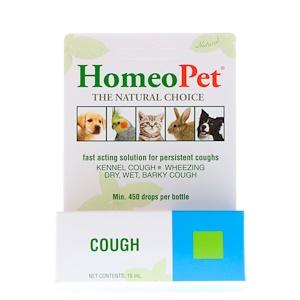 HomeoPet, Cough, 15 ml отзывы