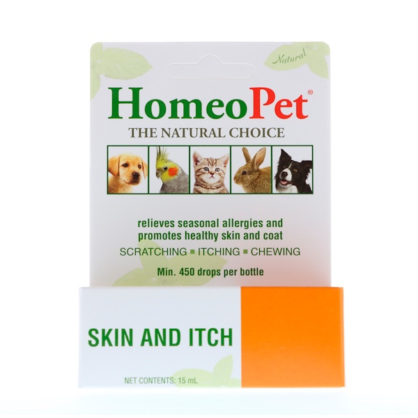 HomeoPet, Skin and Itch, 15 ml