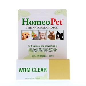 HomeoPet, WRM Clear, 15 ml отзывы