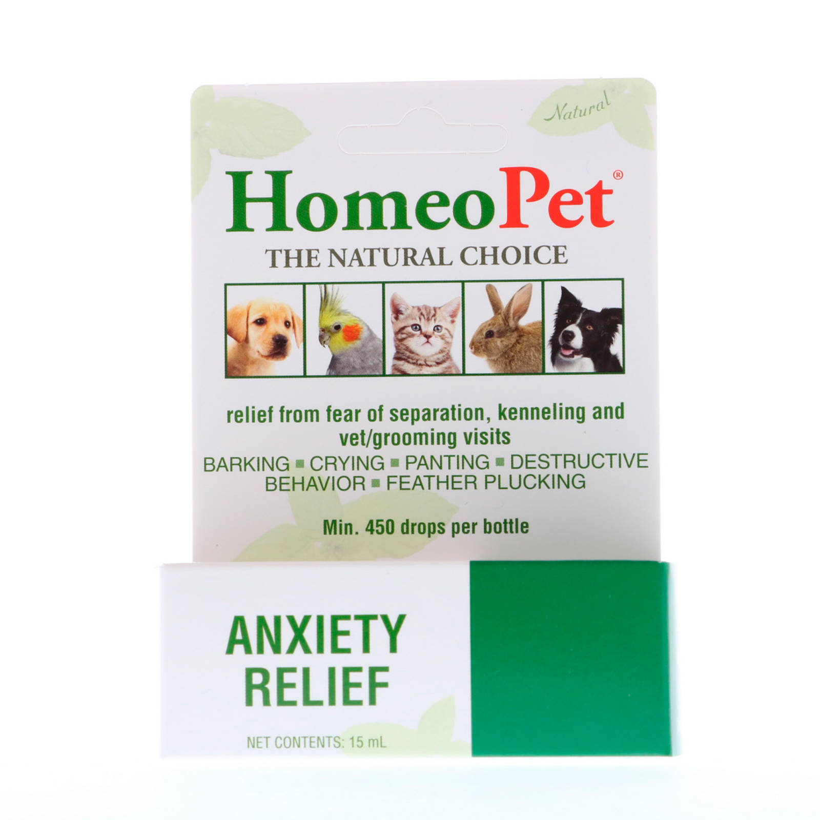 HomeoPet, Anxiety Relief, 15 ml - iHerb
