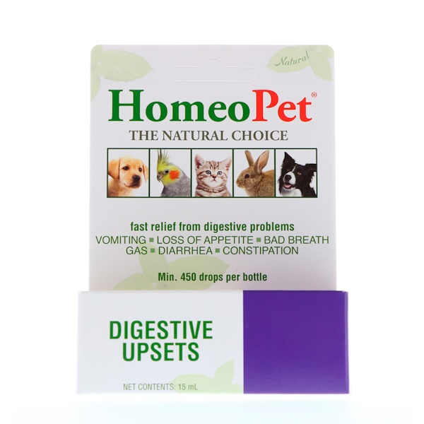 HomeoPet, Digestive Upsets, 15 ml