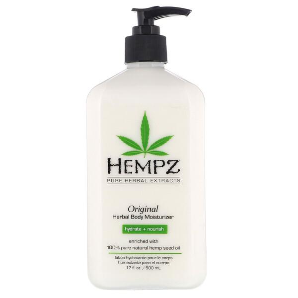 Hempz, Original Herbal Body Moisturizer, 17 fl oz (500 ml)