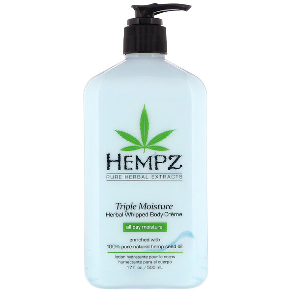 Triple Moisture Herbal Whipped Body Creme, 17 fl oz (500 ml