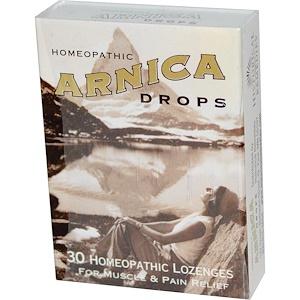 Хисторикал Ремедис, Arnica Drops, 30 Homeopathic Lozenges отзывы