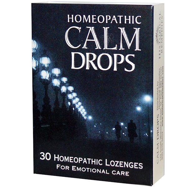 Historical Remedies, Homeopathic Calm Drops, 30 Homeopathic Lozenges (Discontinued Item)