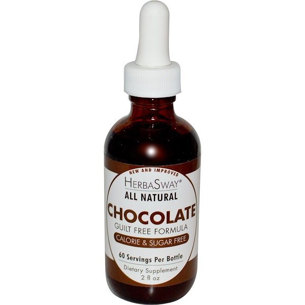 HerbaSway Labs, Chocolate, 2 fl oz (Discontinued Item)