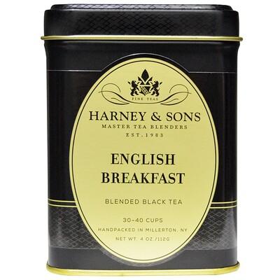Купить Harney & Sons Смесь черного чая Английский завтрак , 4 унции (112 г)