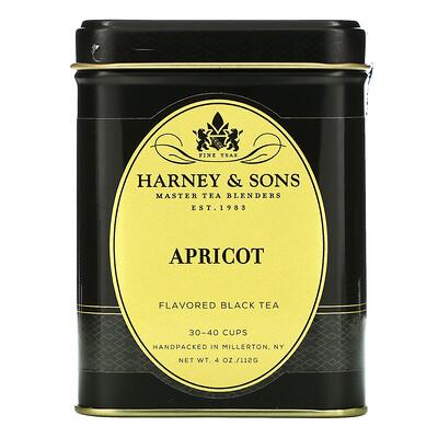 Harney & Sons Apricot, Flavored Black Tea, 4 oz (112 g)