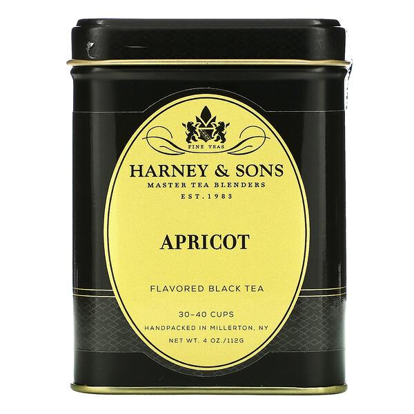 Apricot, Flavored Black Tea, 4 oz (112 g)