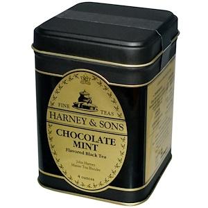 Harney & Sons, Черный чай с шоколадом и мятой, 4 унции инструкция, применение, состав, противопоказания