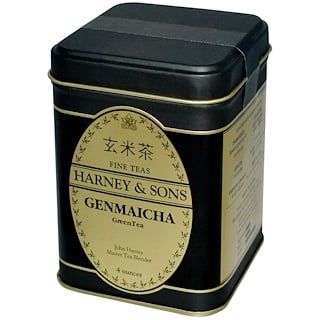 Harney & Sons, Genmaicha Green Tea, 4 oz