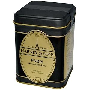 Harney & Sons, Черный чай, ароматизированный Париж, 4 унции инструкция, применение, состав, противопоказания