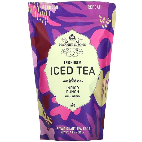 Fresh Brew Iced Tea, Indigo Punch Herbal Infusion, 7.5 oz (212 g)