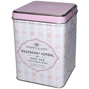 Харни энд сонс, Raspberry Herbal Iced Tea,  6 — 2 Quart Tea Bags, 3 oz (.11g) отзывы