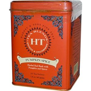 Harney & Sons, Чайные смеси, пряная тыква, 20 пакетиков, 1,4 унции (40 г) инструкция, применение, состав, противопоказания