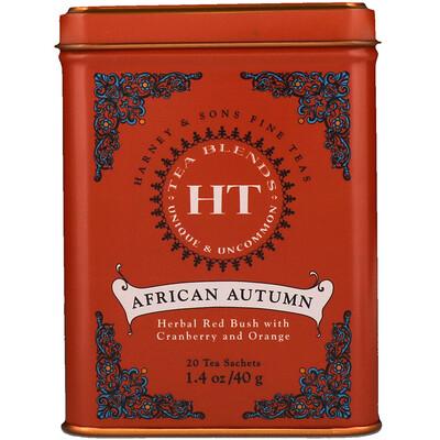 Африканская осень, 20 чайных пакетиков, 1.4 унции (40 г)  - купить со скидкой