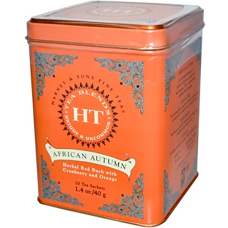 Harney & Sons, African Autumn, 20 Tea Sachets, 1.4 oz (40 g)